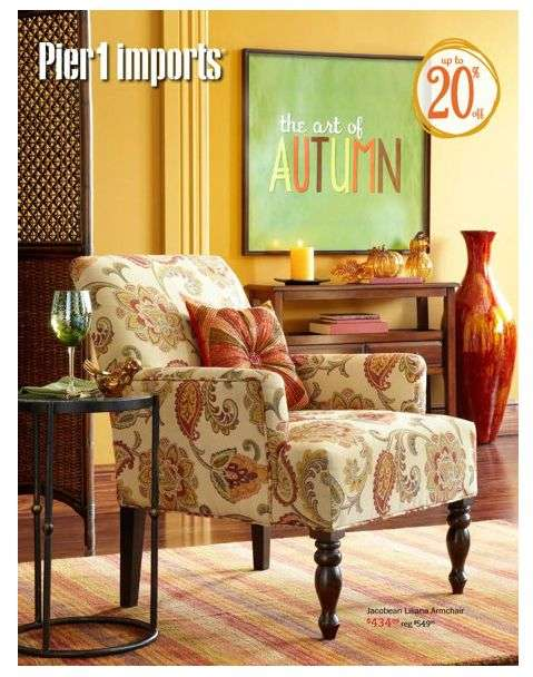 . Pier 1 Imports flyer Aug 26 to Sep 30