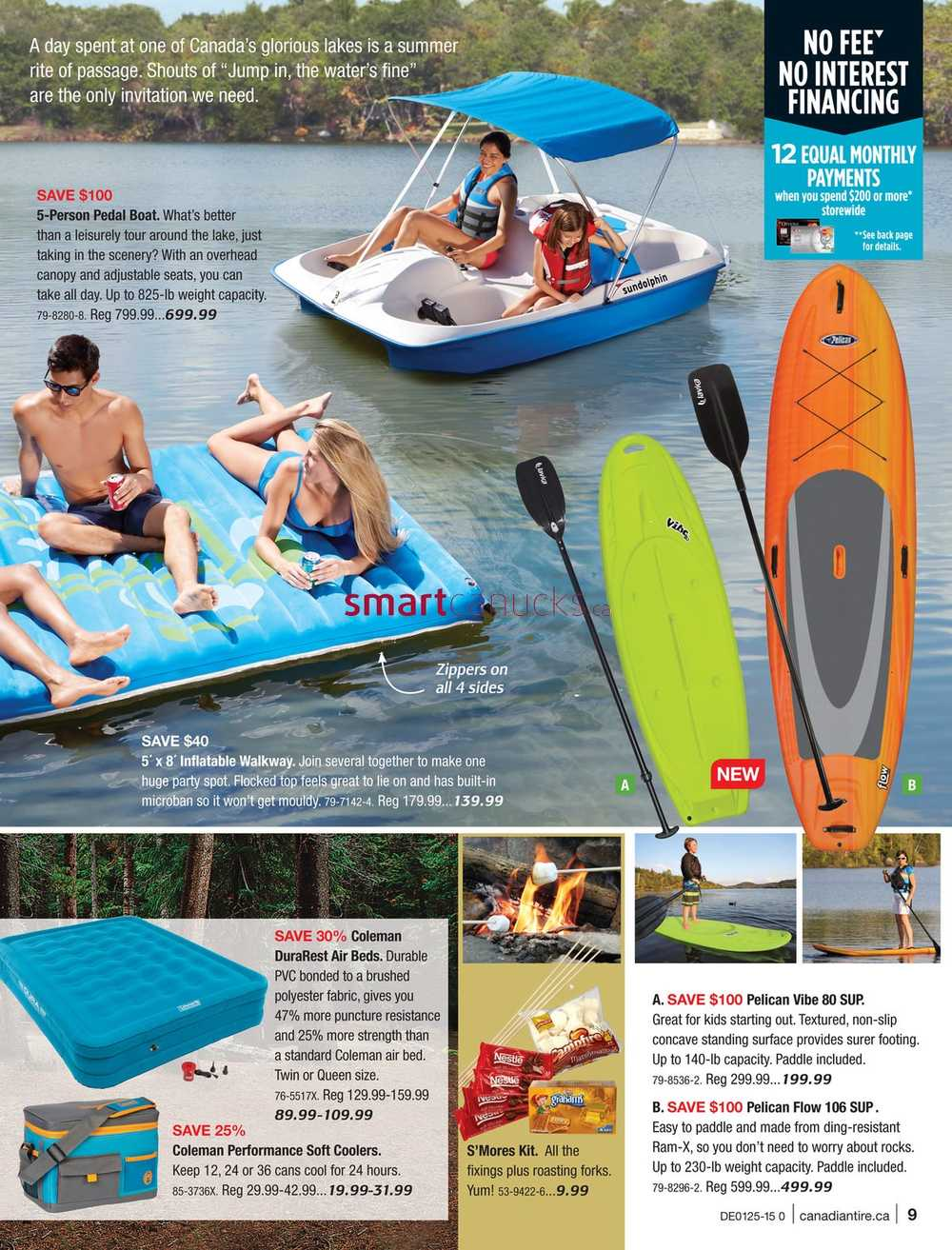 & Canadian Tire Summer Catalogue June 19 to July 9