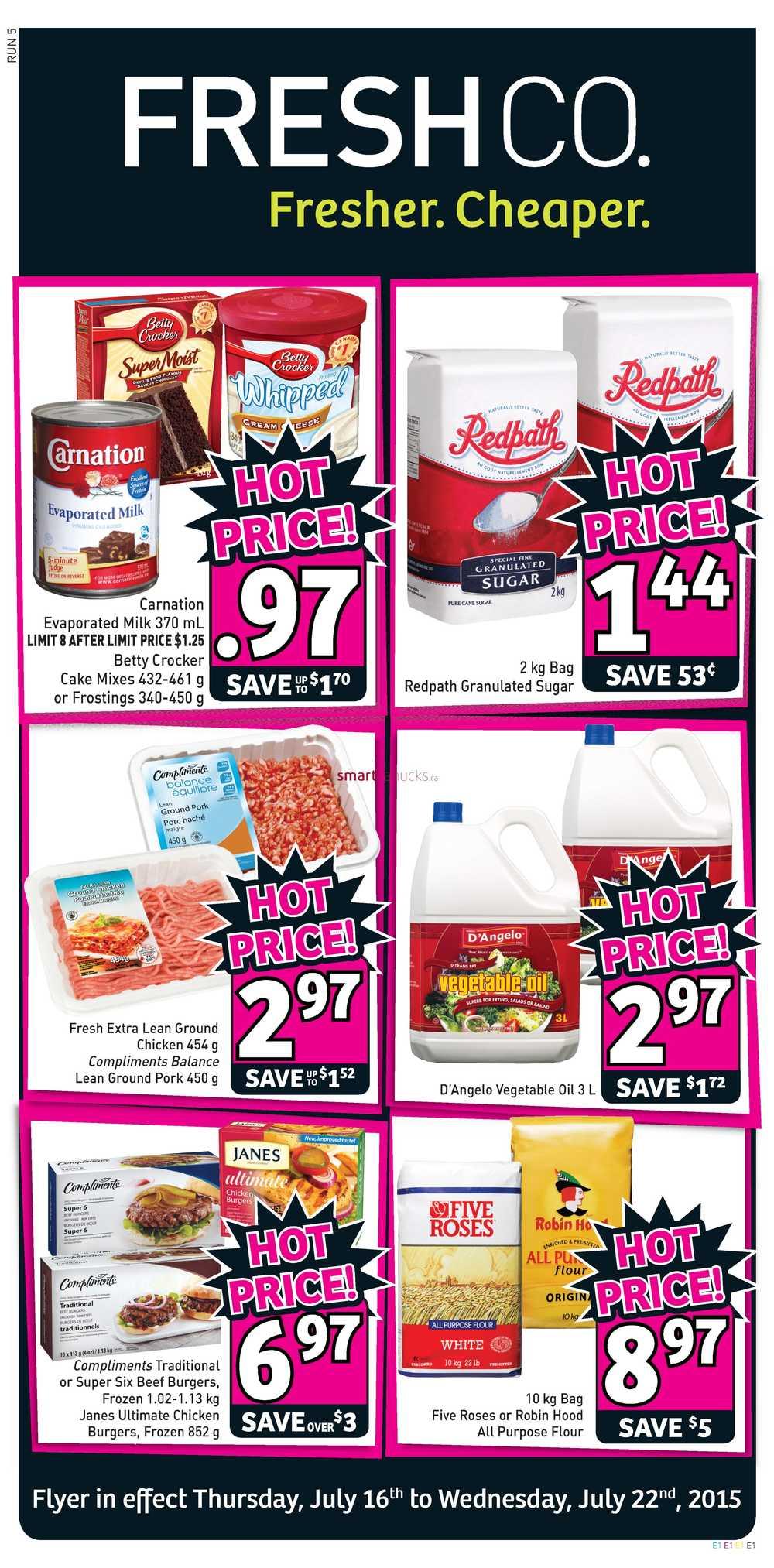 freshco canada weekly flyers thursday july 16 to