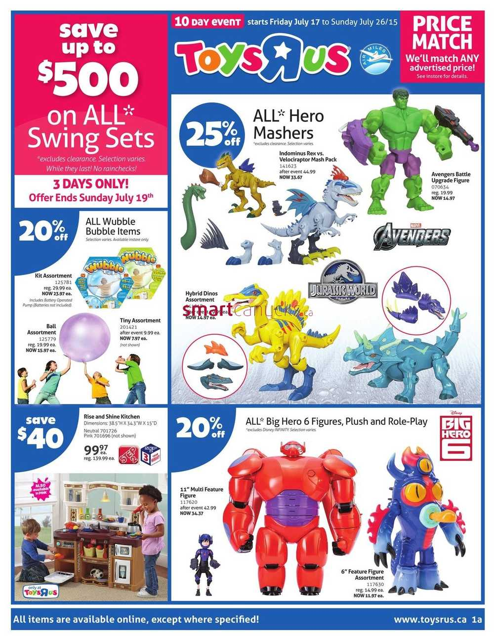 All Toys Toys R Us : Toys r us flyer july to