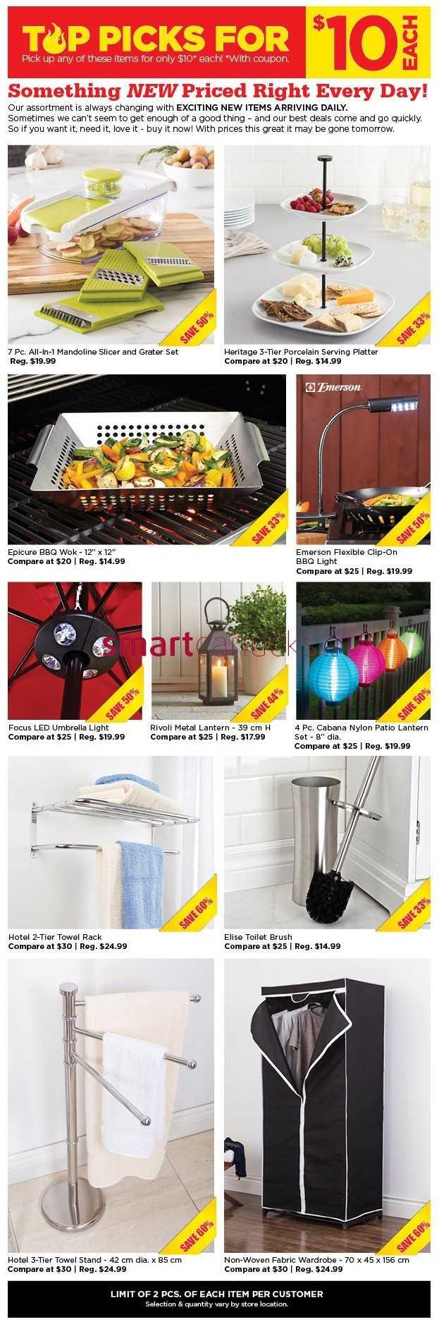 Stunning Kitchen Stuff Plus $10 Red Hot Deals July 16 to 26 623 x 1885 · 353 kB · jpeg