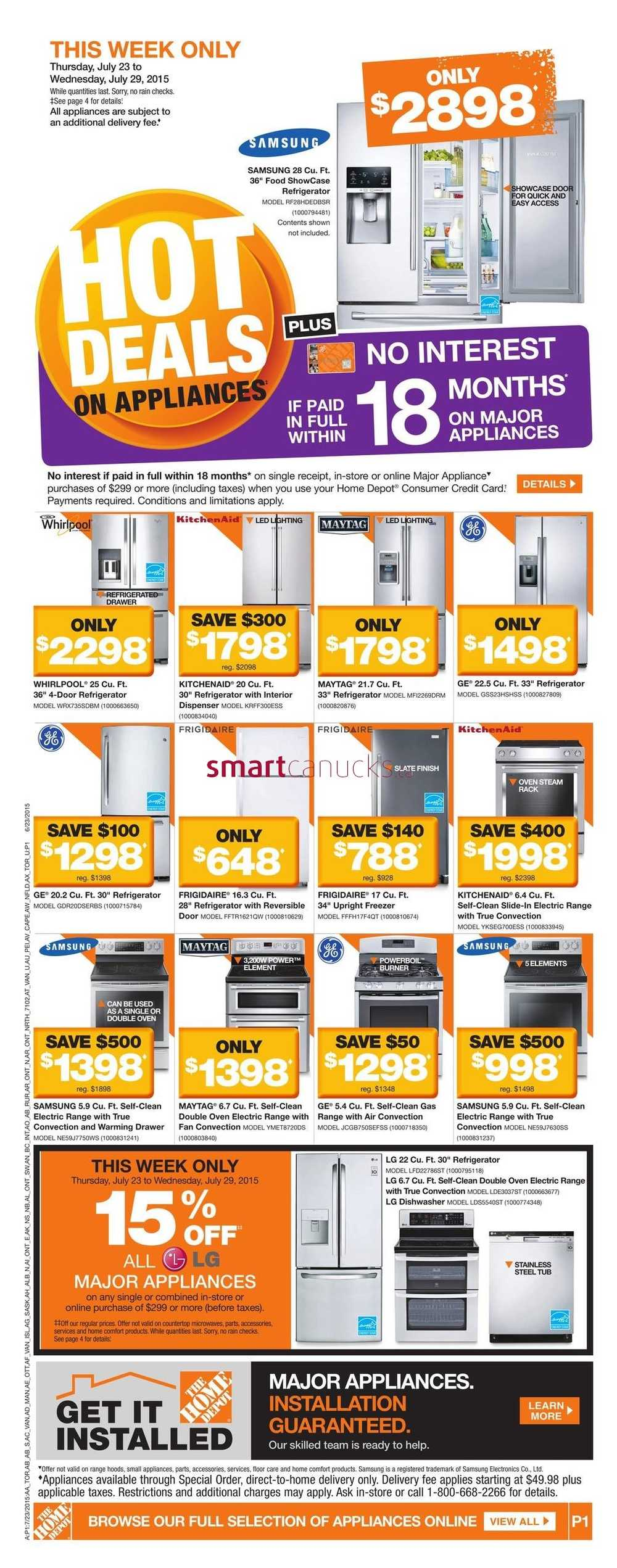 Home Depot On Flyer July 23 To 29
