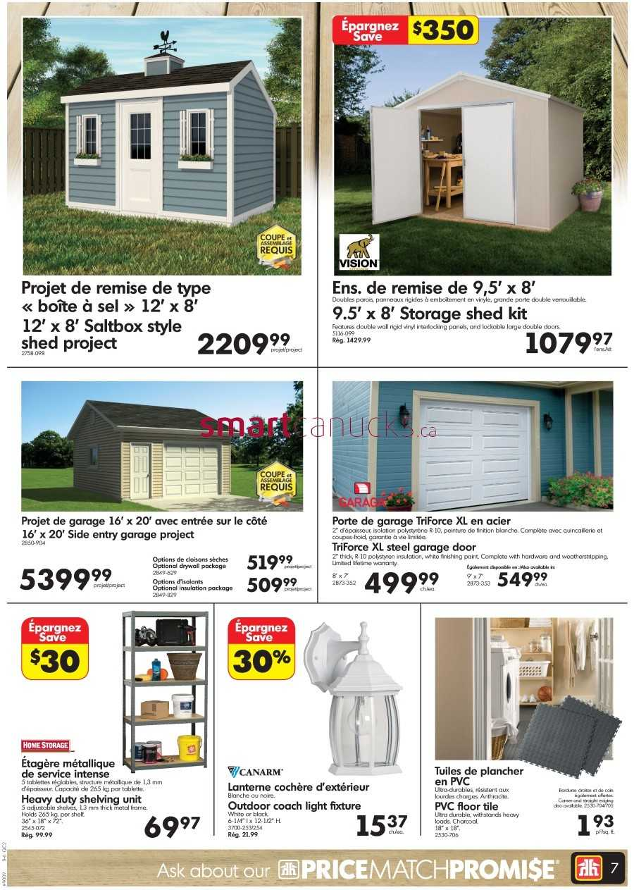 Home Hardware Building Centre Qc Flyer July 29 To August 8