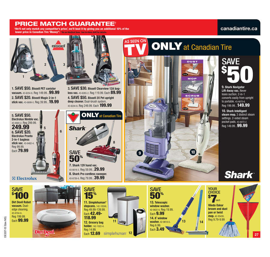 Canadian Tire Flyer Sep 7 To 13