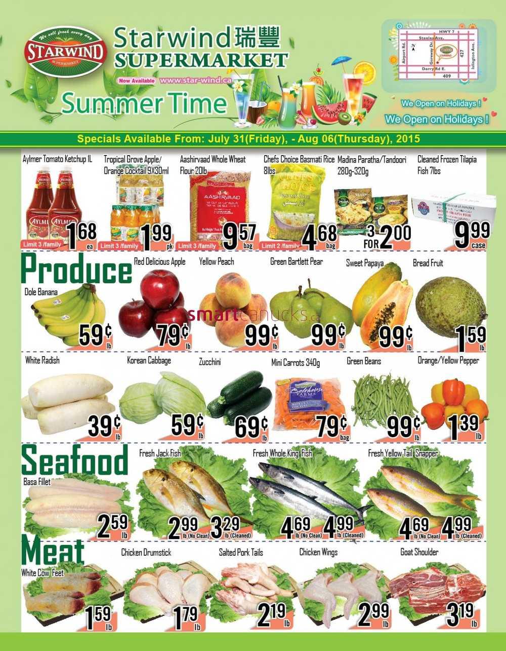 starwind supermarket canada flyers