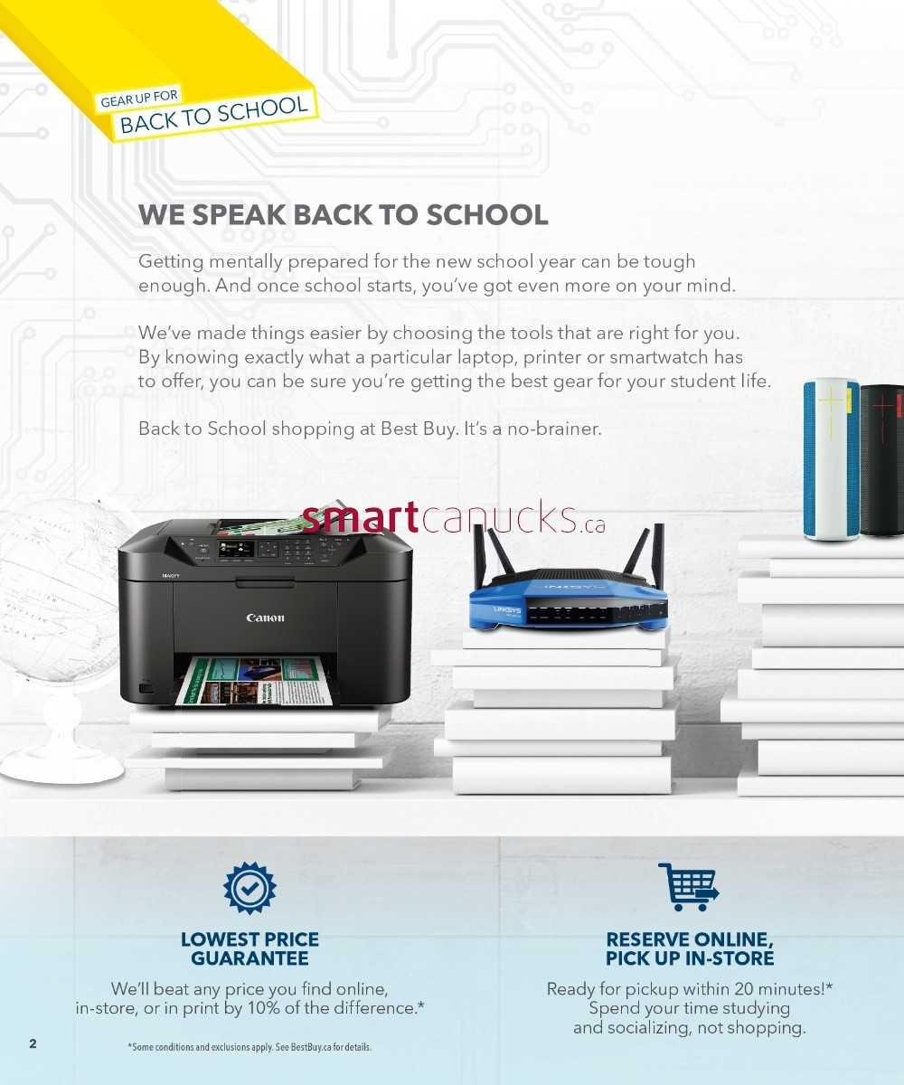 best buy back to school flyer 31 to 16
