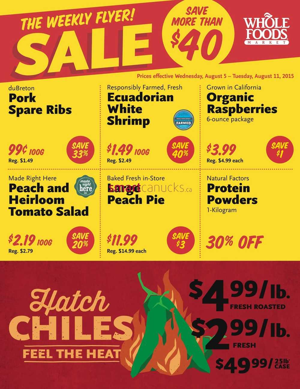 Whole Foods Weekly Flyer