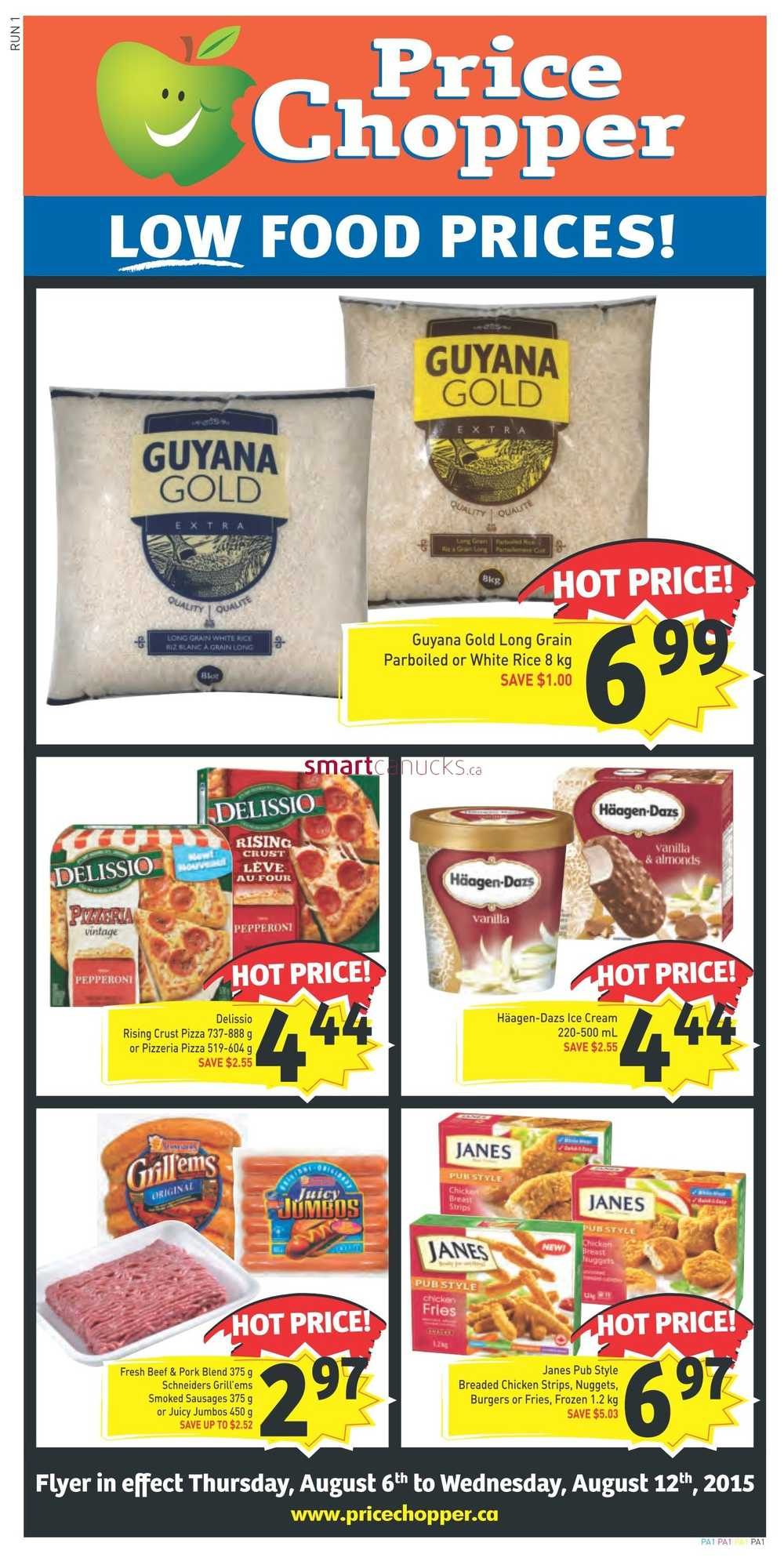 Price Chopper Flyer August 6 To 12