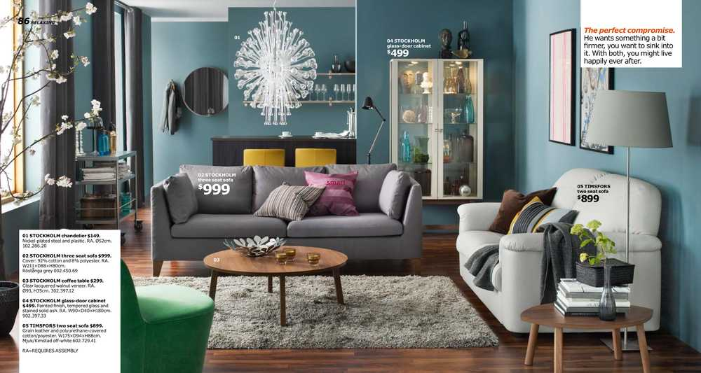Ikea canada 2016 catalogue flyer for Drawing room furniture catalogue