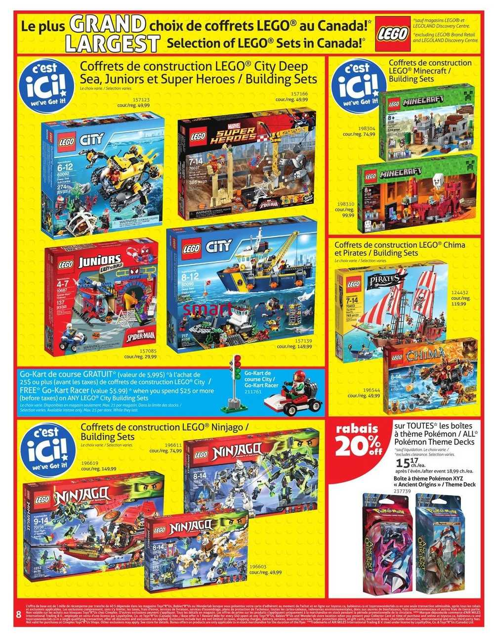 Toys r us canada coupons august 2018