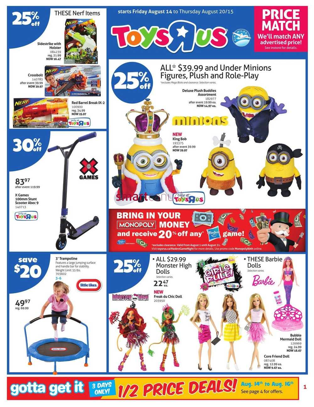 Toys r us flyer august 14 to 20 for Cuisinette toys r us