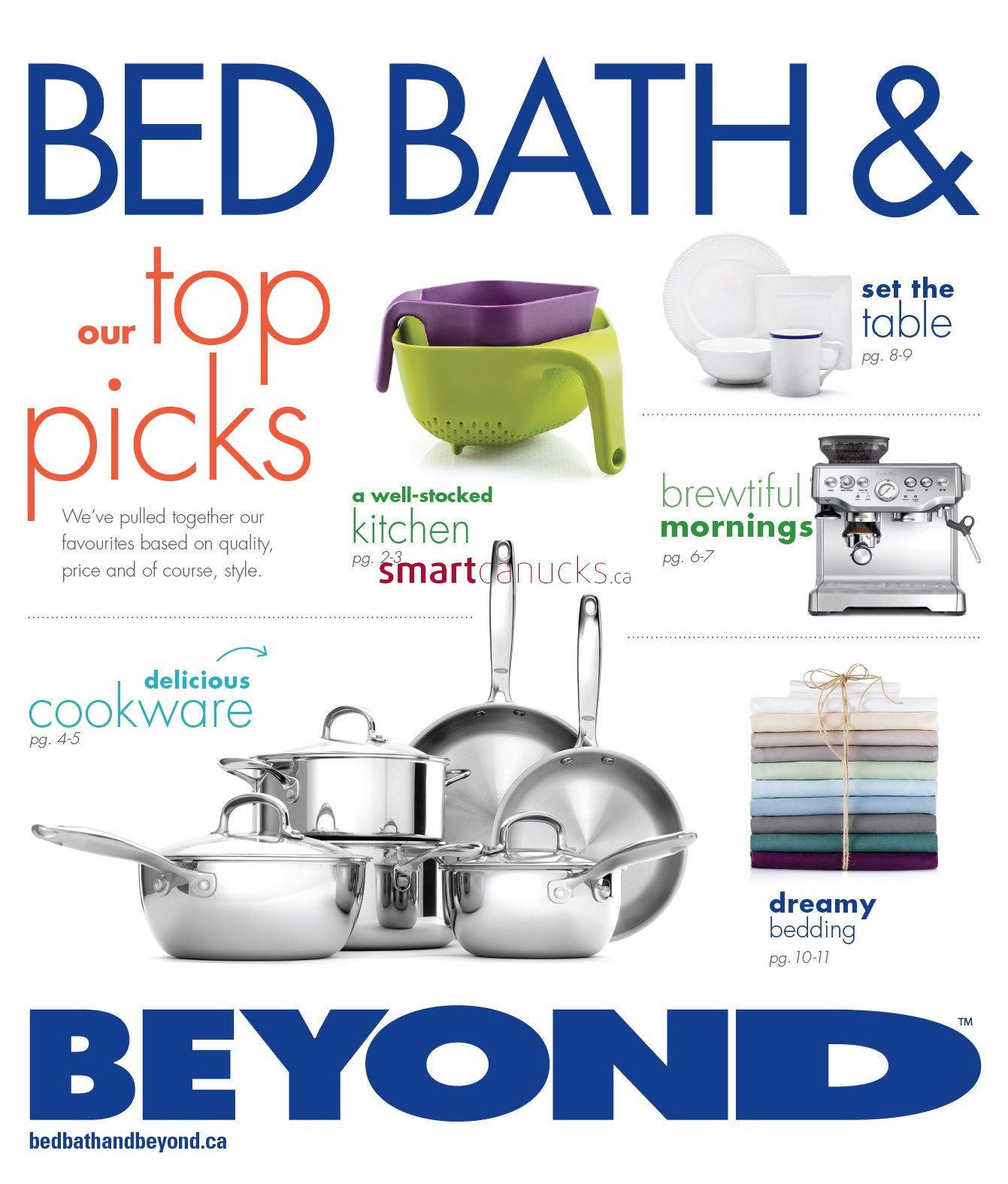 Bed Bath Beyond Canada Flyers