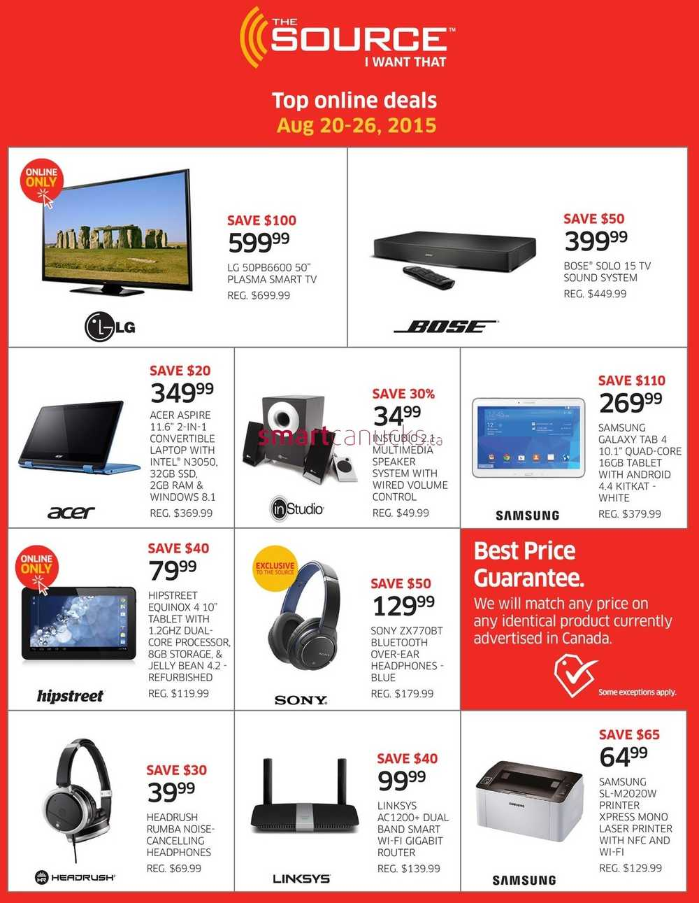 Best tv deals online canada