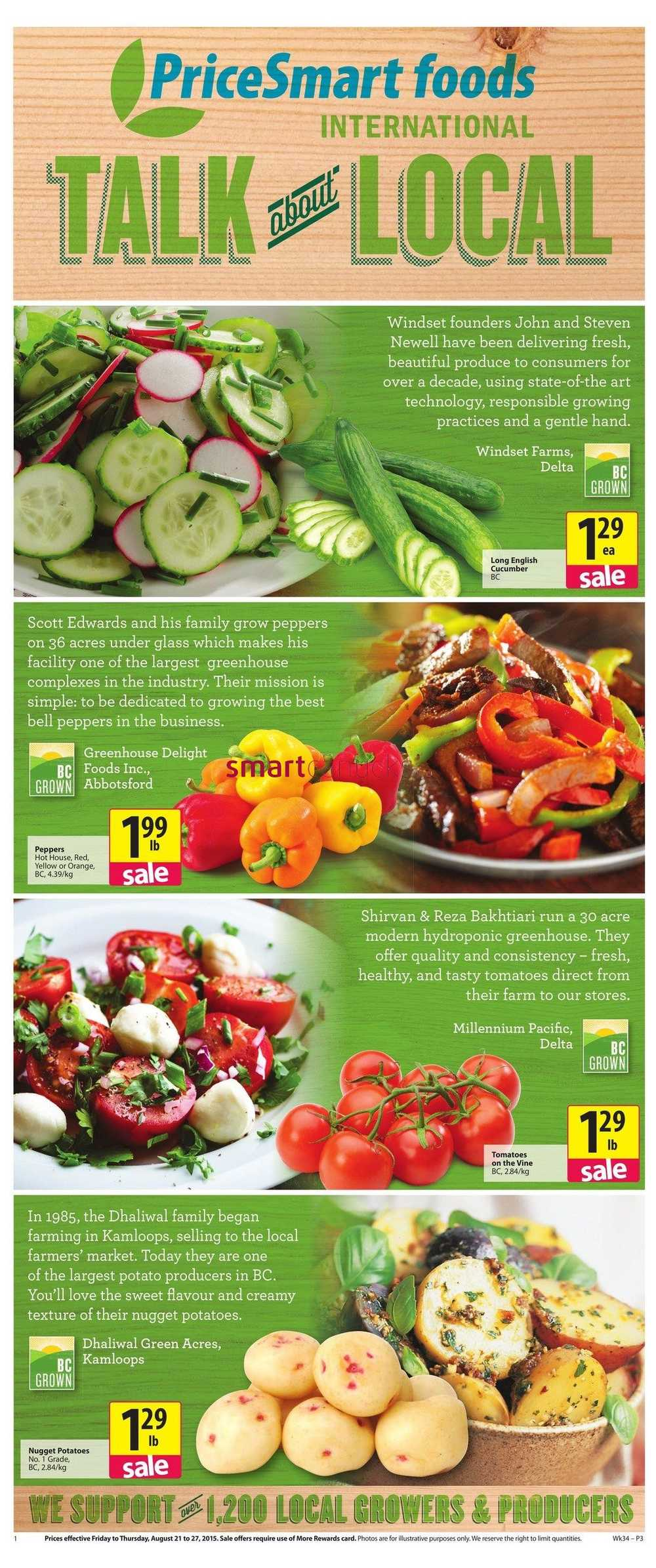 pricesmart foods flyer august 21 to 27