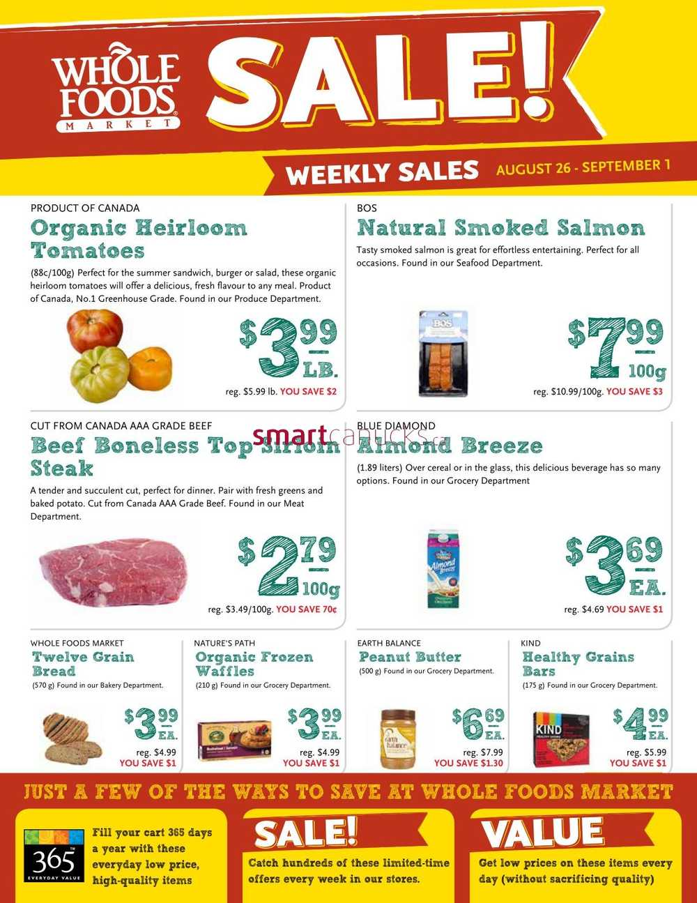 Whole Foods Canada Coupons