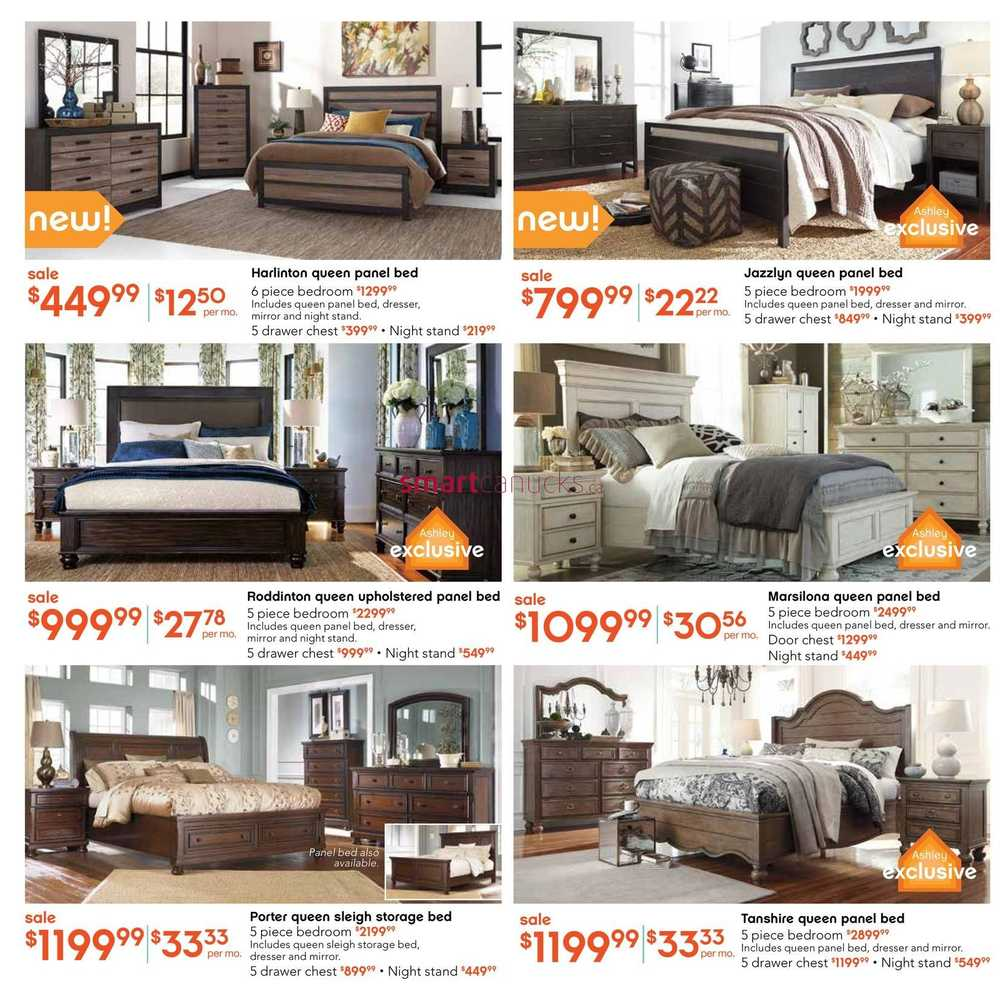 Ashley Furniture Homestore West Flyer September 2 To 15