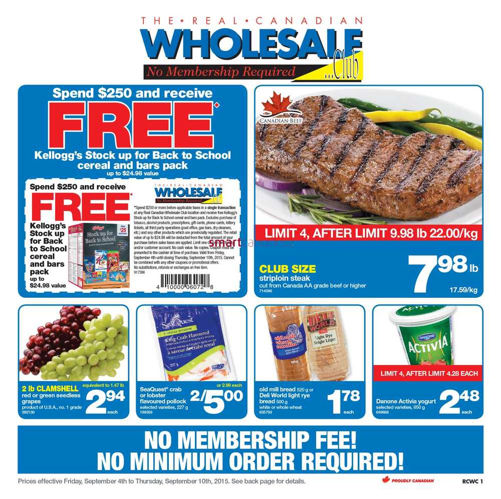 Real Canadian Wholesale Club