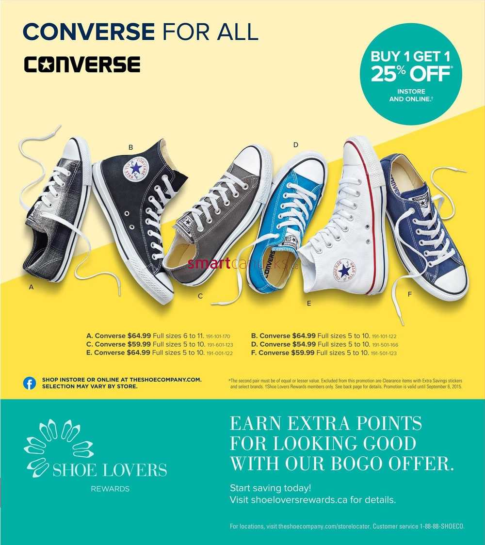 The Shoe Company Flyer September 3 To 13
