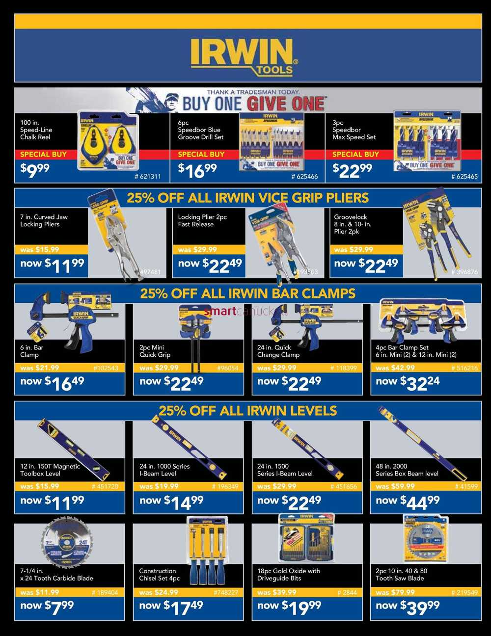 Lowe's Mega Tool Event Flyer September 10 to October 28