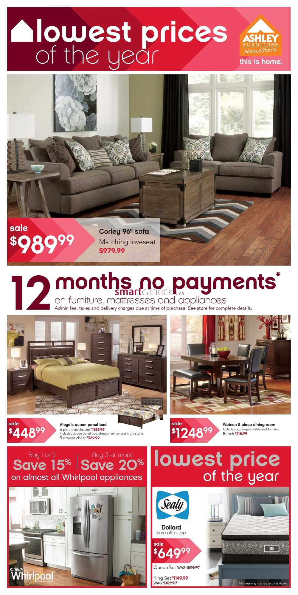 Ashley Furniture Home Store West Flyer September 17 To 30