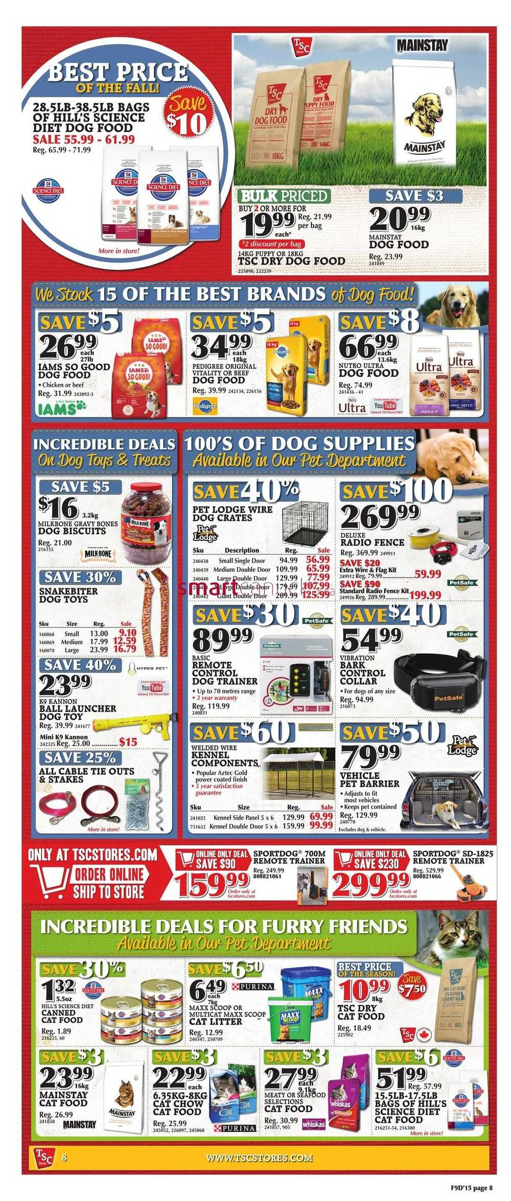 tsc stores flyer september 25 to october 1