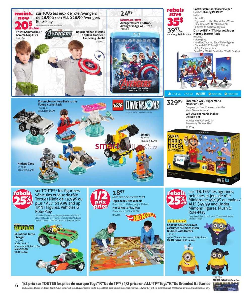 Toys R Us (QC) Flyer October 2 to 8