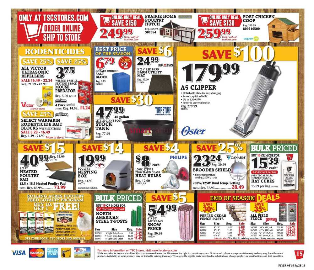 tractor supply printable coupons 2017 october autos post