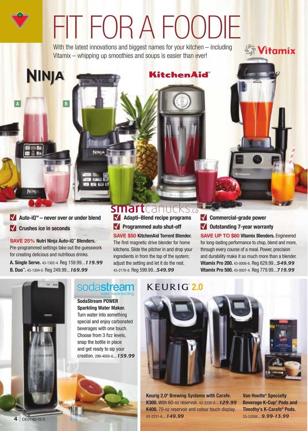 Uncategorized Canadian Tire Kitchen Appliances canadian tire fall catalog october 2 to 22 view single