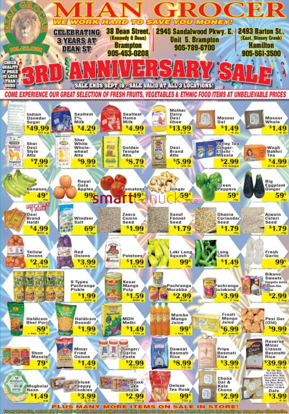Mian Grocer Flyer Sep 13 To 19