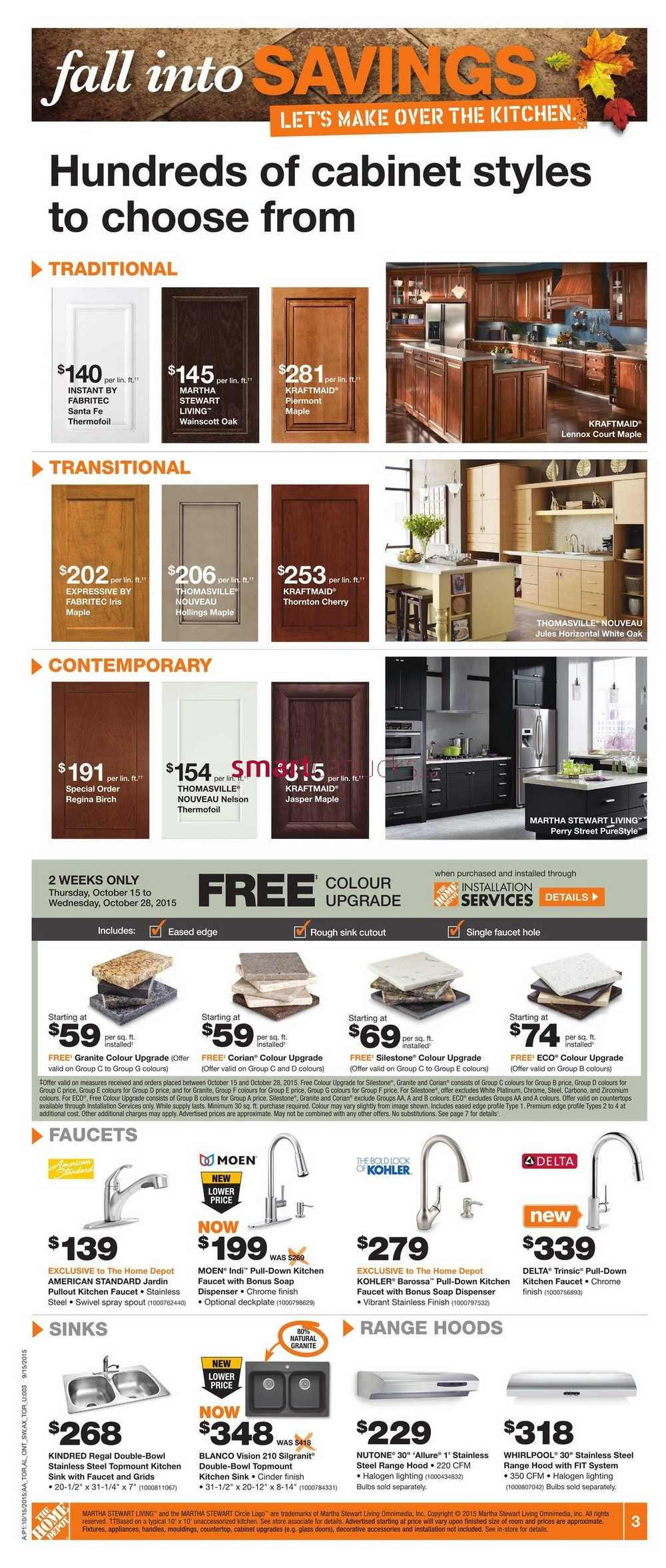 Home Depot (ON) Flyer October 15 to 21