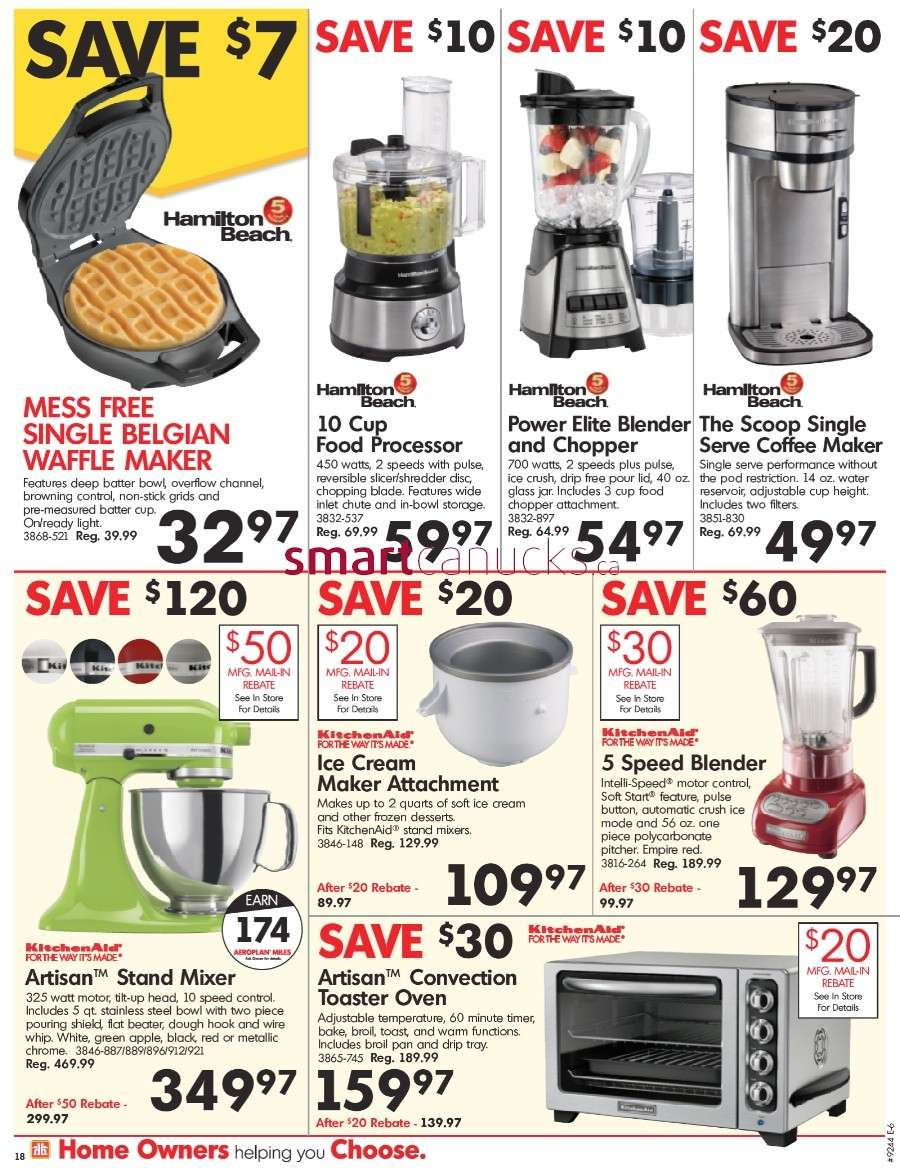 Home Hardware Kitchen Appliances