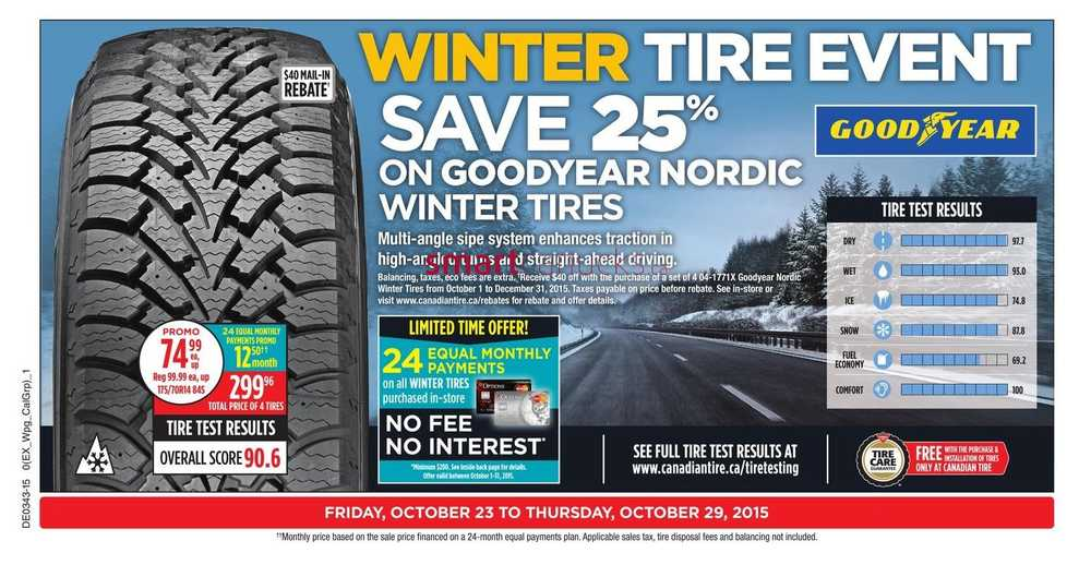 Canadian Tire (ON) Flyer October 23 to 29