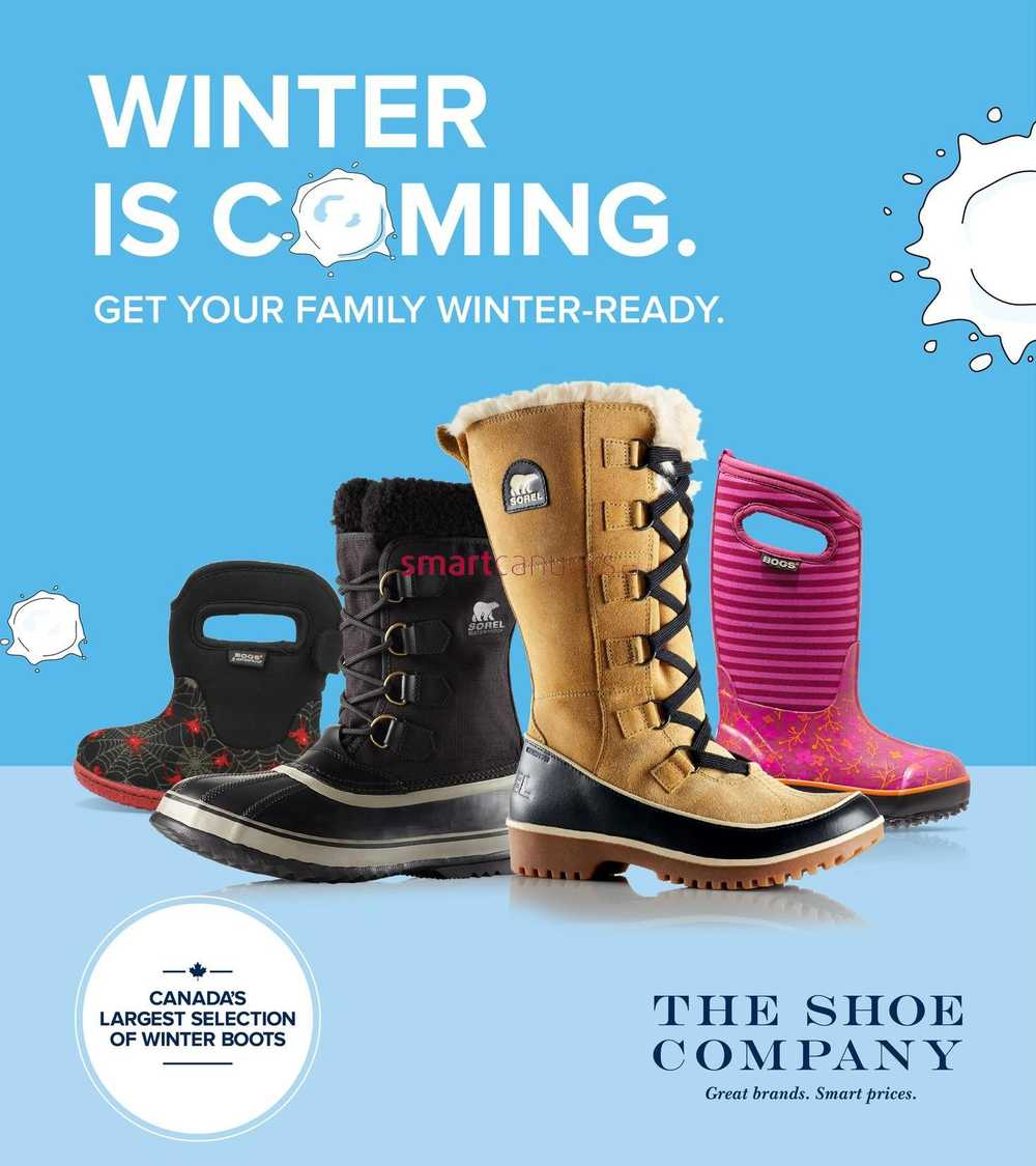 Shoe Company Canada Email Sign Up