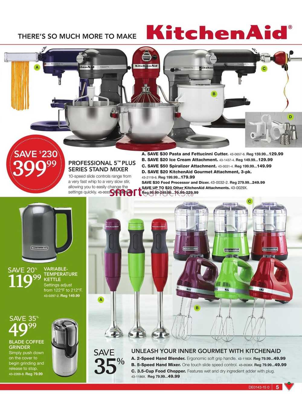 Uncategorized Canadian Tire Kitchen Appliances canadian tire big brands living guide october 23 to november 12 simplified view more flyers