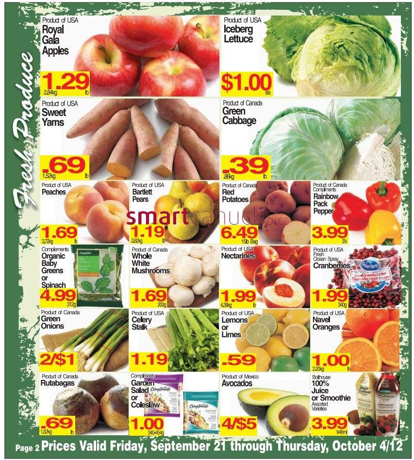 Johnny 39 s fresh market flyer sep 21 to oct 4 for Johnny s fish market