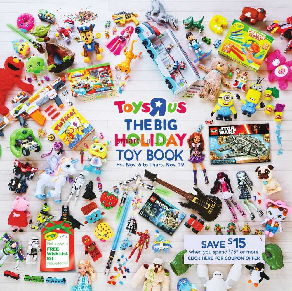 Toys r us toy catalogue november 6 to 19 for Cuisinette toys r us