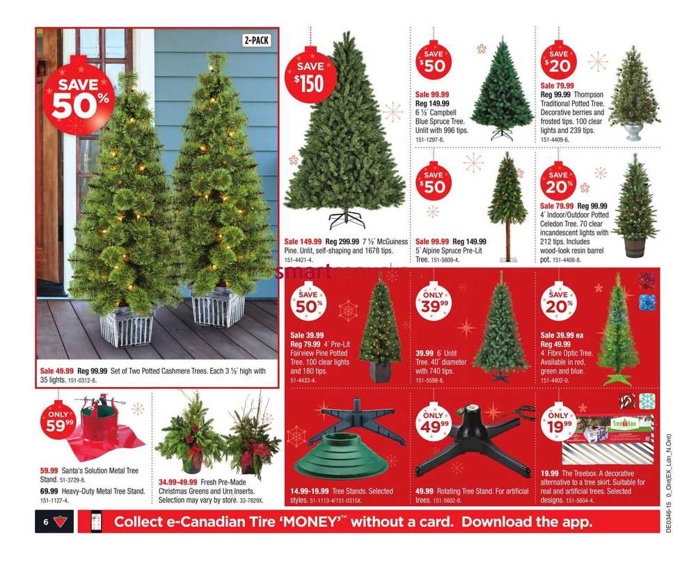 The Christmas Tree Store Flyer