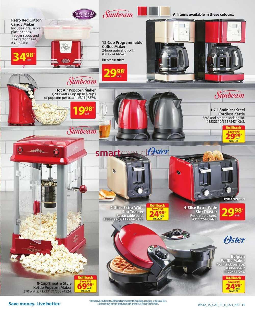 Walmart holiday decor catalogue november 12 to 25 for Decorators design catalog