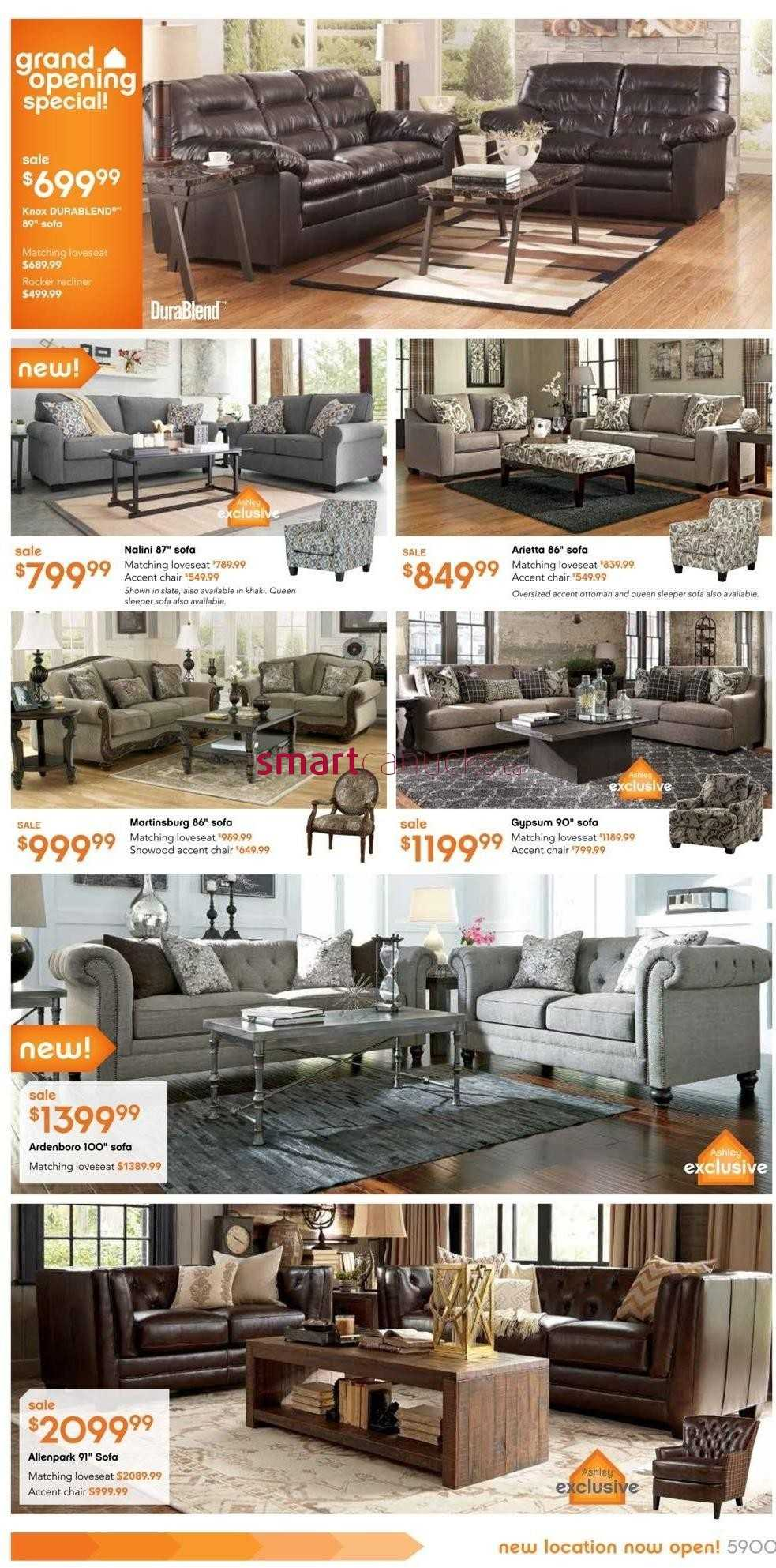 Ashley Furniture Home Store On Flyer November 12 To 25