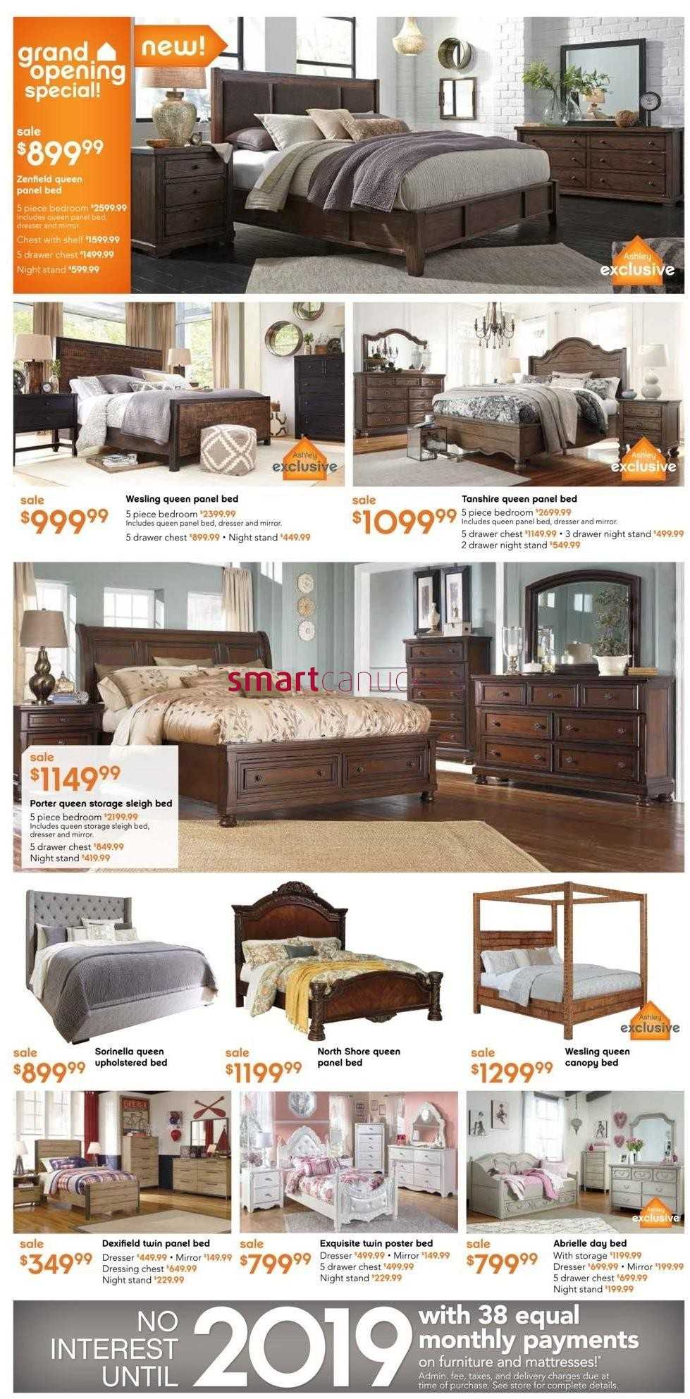 Ashley furniture home store on flyer november 12 to 25 for Ashley furniture homestore canada