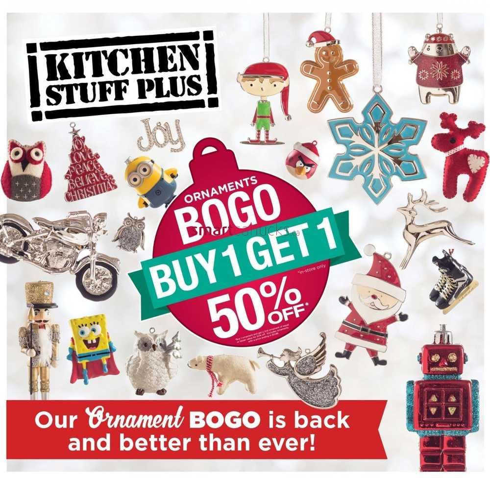 Kitchen stuff plus flyer november 12 to 22