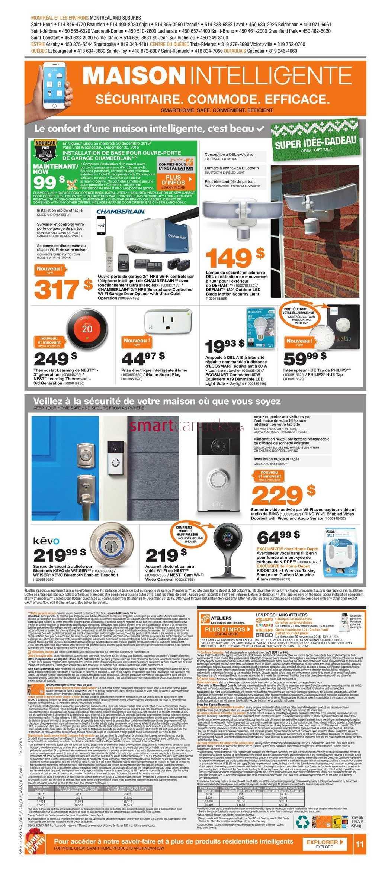 Home Depot Qc Flyer November 12 To 18