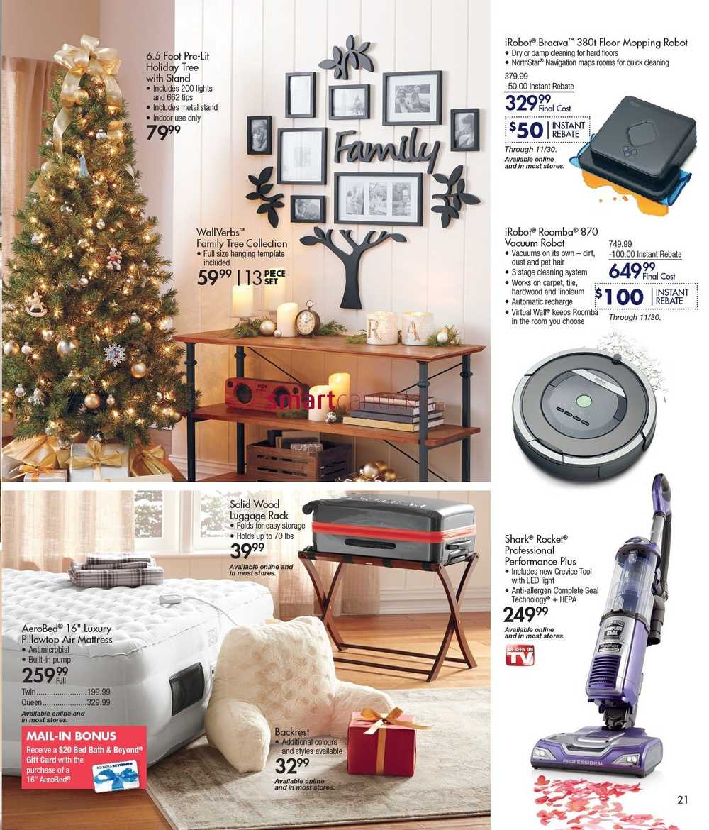bed bath and beyond flyer