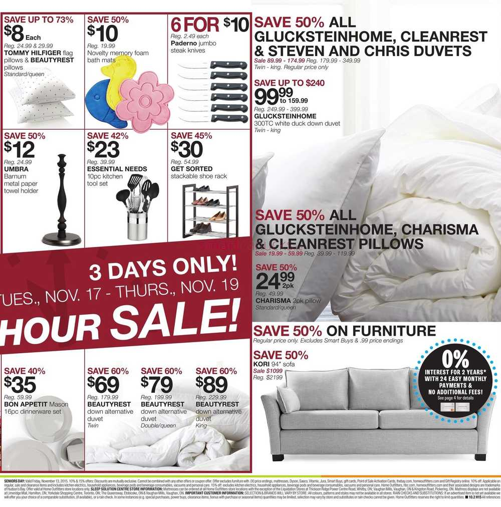 Coupons for home outfitters