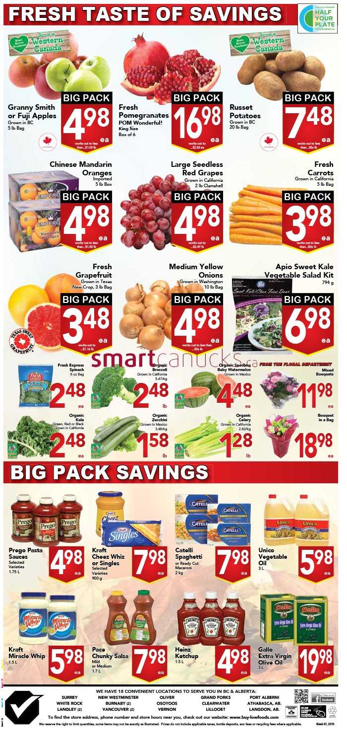 buy low foods flyer november 15 to 21