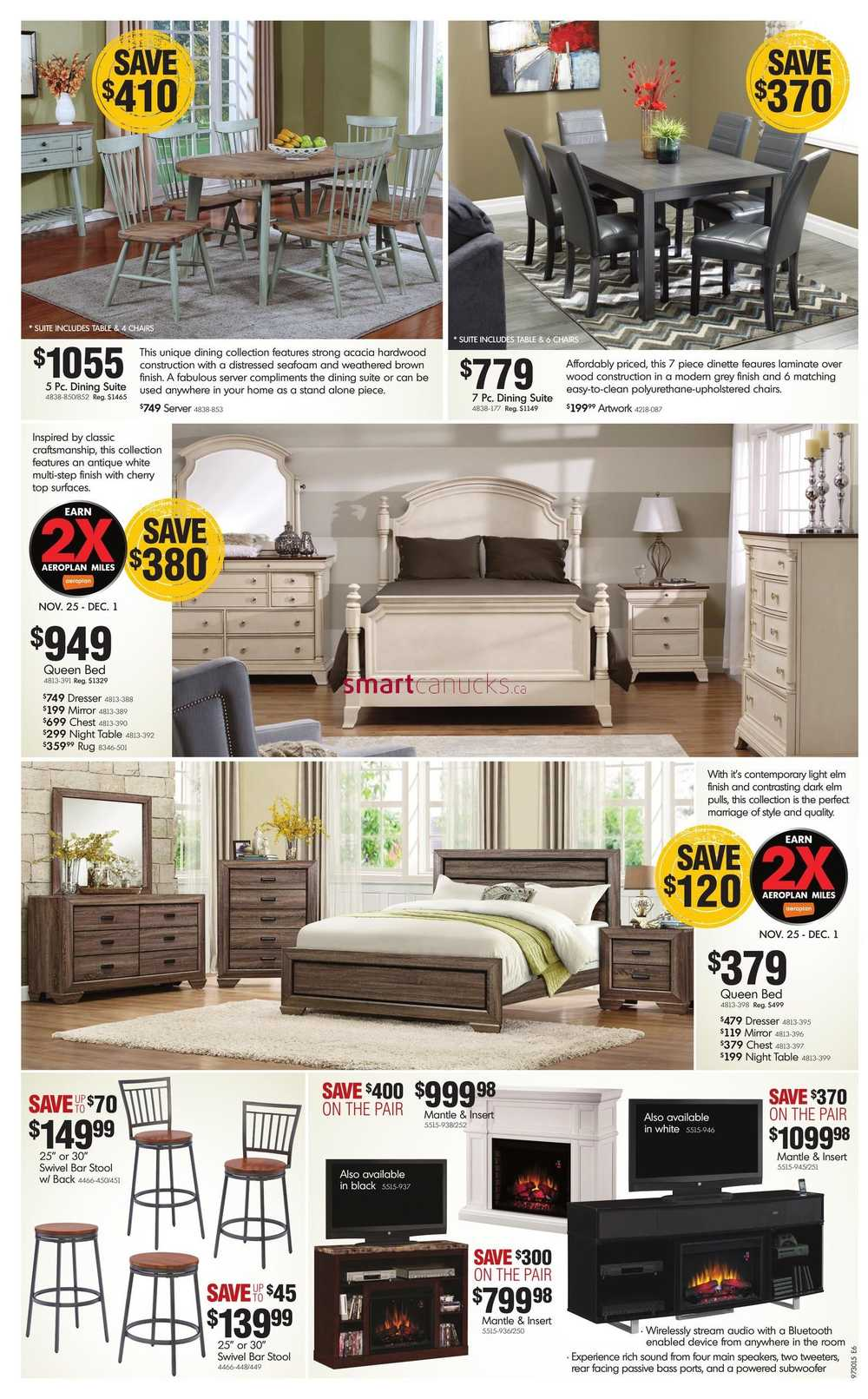 Home Furniture On 2015 Black Friday Sale Flyer