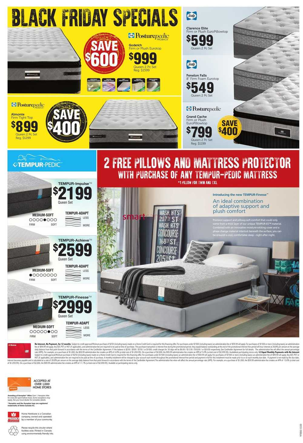 Home Furniture Atlantic 2015 Black Friday Sale Flyer