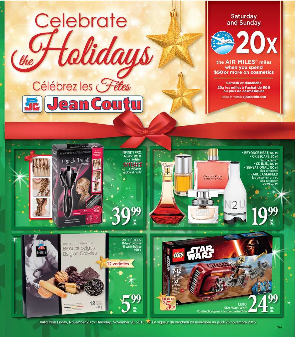 Jean Coutu On Flyer November 20 To 26
