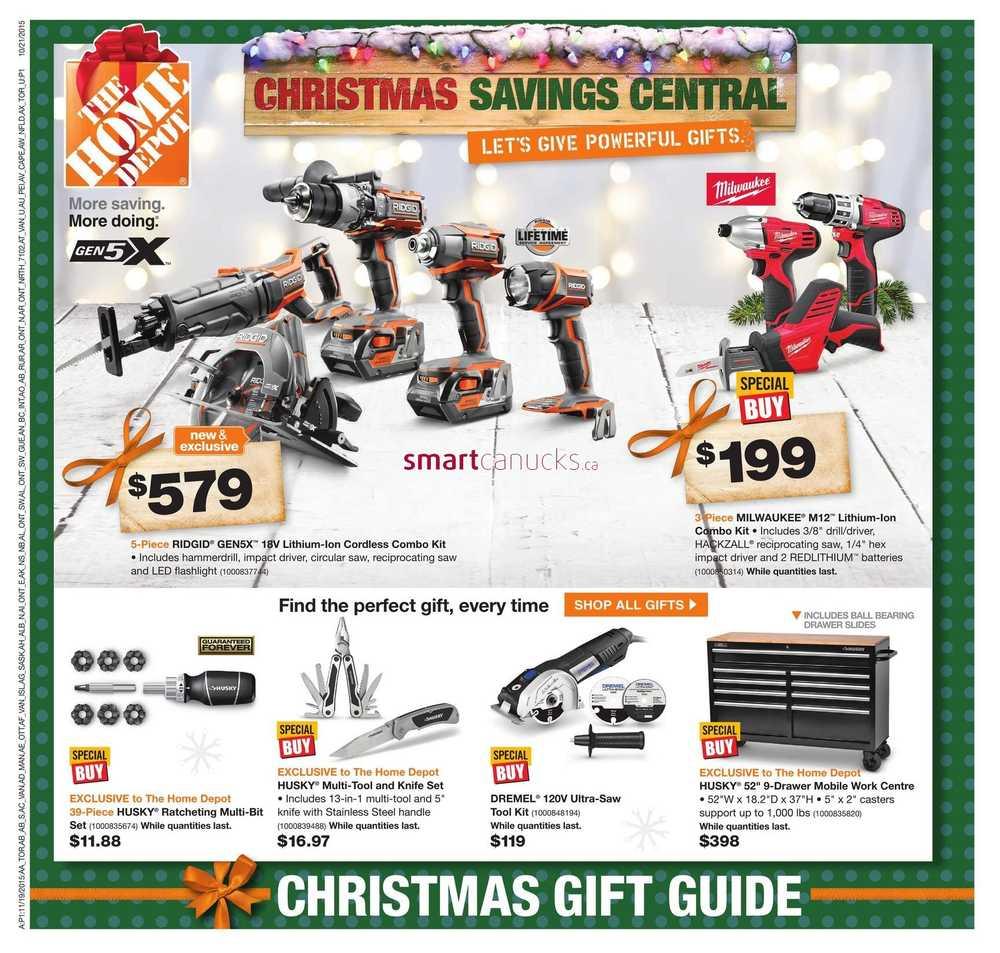 Home Depot On Flyer November 19 To 25