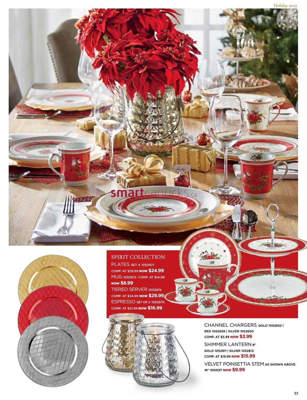 sc 1 st  Smart Canucks & Bowring Holiday Catalog November 19 to December 24